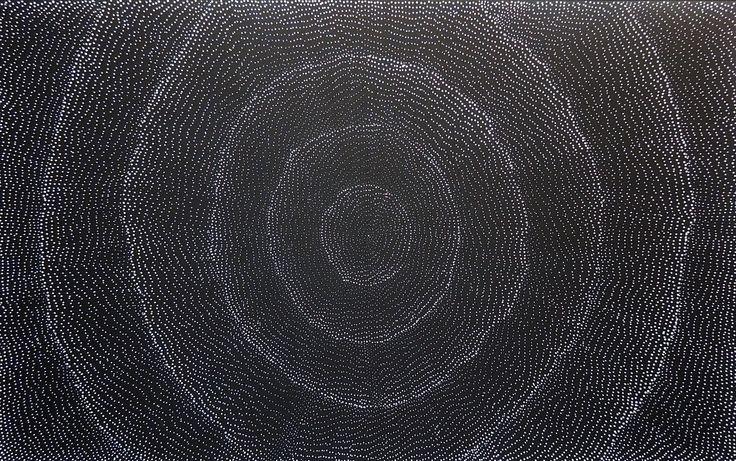 Lilly Kelly Napangardi 950 X 1540 mm - Mandel Art Gallery