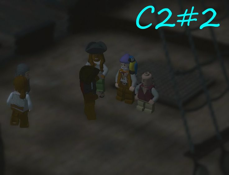 Crew Reunion....|Lego:Pirates Of The Caribbean