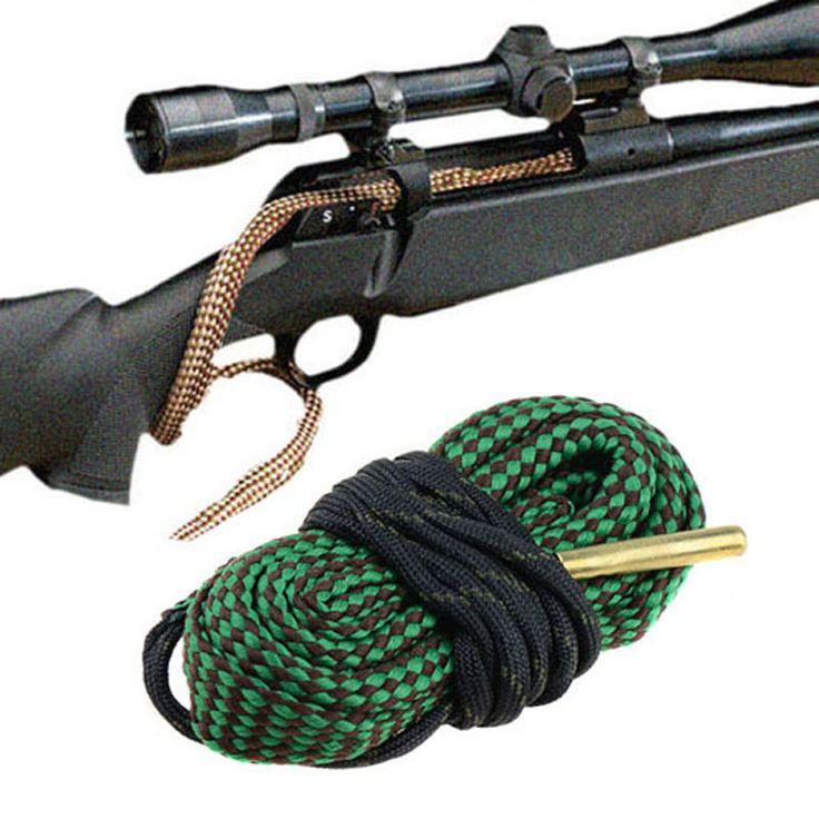 Зеленый Отверстие Змея Пистолет/Винтовка Очистки. 22 Кал. 223 5.56 мм Пистолет Винтовка Boresnake Cleaner Очистка VEH22 P31