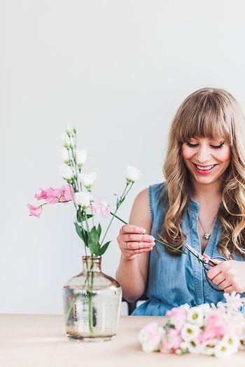Schnittblumen haltbar machen und Blumen trocknen