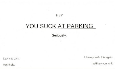 Card on My Car - Parking - Learn How to Spell