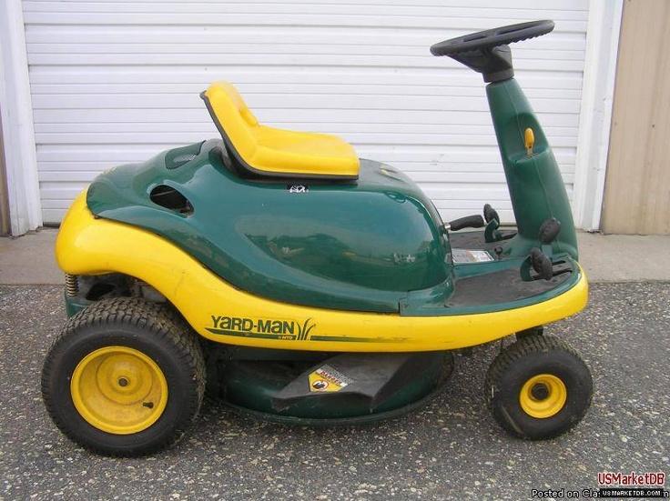 Yardman Yard Bug Lawn Mower John Deere Pinterest D