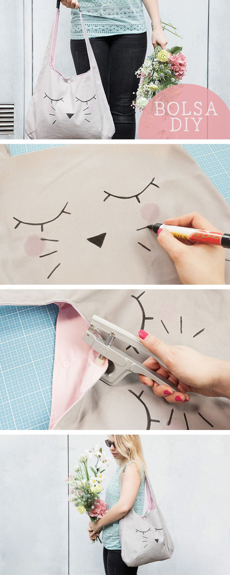 955 best diy tutoriales paso a paso images on pinterest - Como hacer cuadros de tela ...
