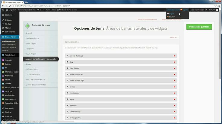 Built in #Multilingual #support in all #wordpress #themes on www.ait-themes.club
