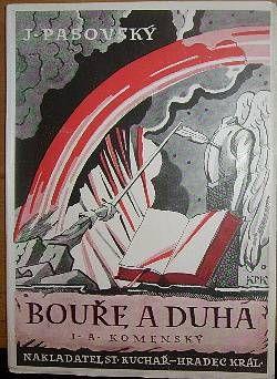 ilustrace Konůpek, Jan -  J. A. Komenský Hradec Králové – Stanislav Kuchař 1946