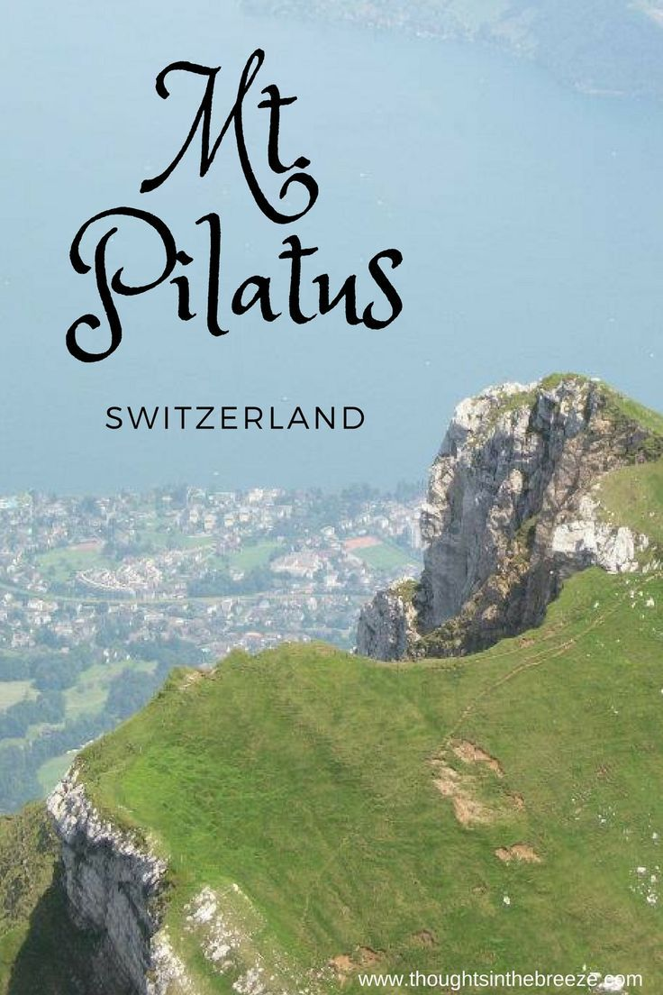 Mt. Pilatus is a great way to spend the day, lots of family activities, and an extremely challenging toboggan run. Ride the cable car up to the top and see the panoramic beautiful views of Switzerland. #mtpilatus, #switzerland, #travelblogger, #thoughtsinthebreeze