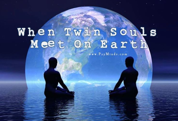 When Twin Souls Meet Each Other On Earth - via @psyminds17