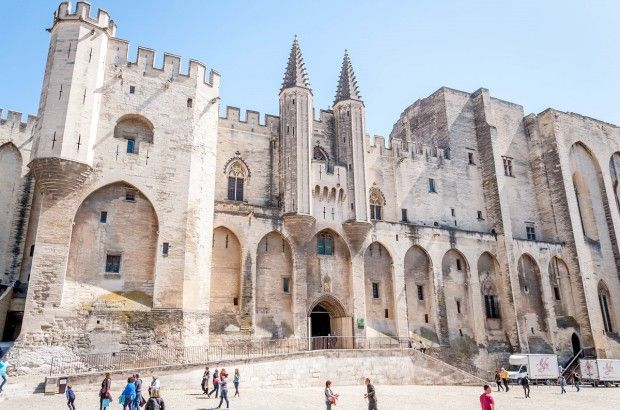Palace of the Popes in Avignon, France