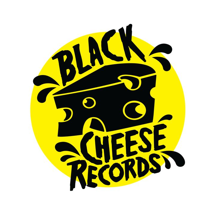 Black Cheese Records logo design  www.totcph.com