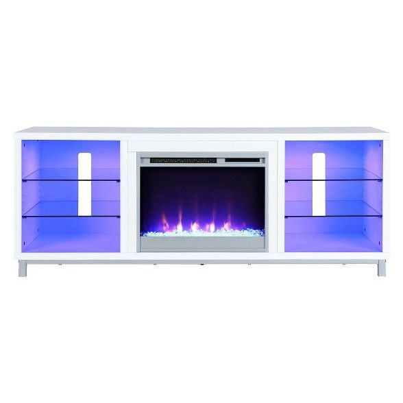 Yorkshire Fireplace Tv Stand For Tvs Up To 70 Wide Room Joy