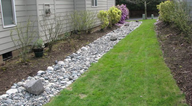Landscaping Yard Drainage : Lawn drainage solutions gardening and outdoor spaces