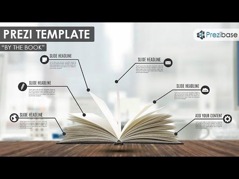 By the Book Prezi Template | Prezibase