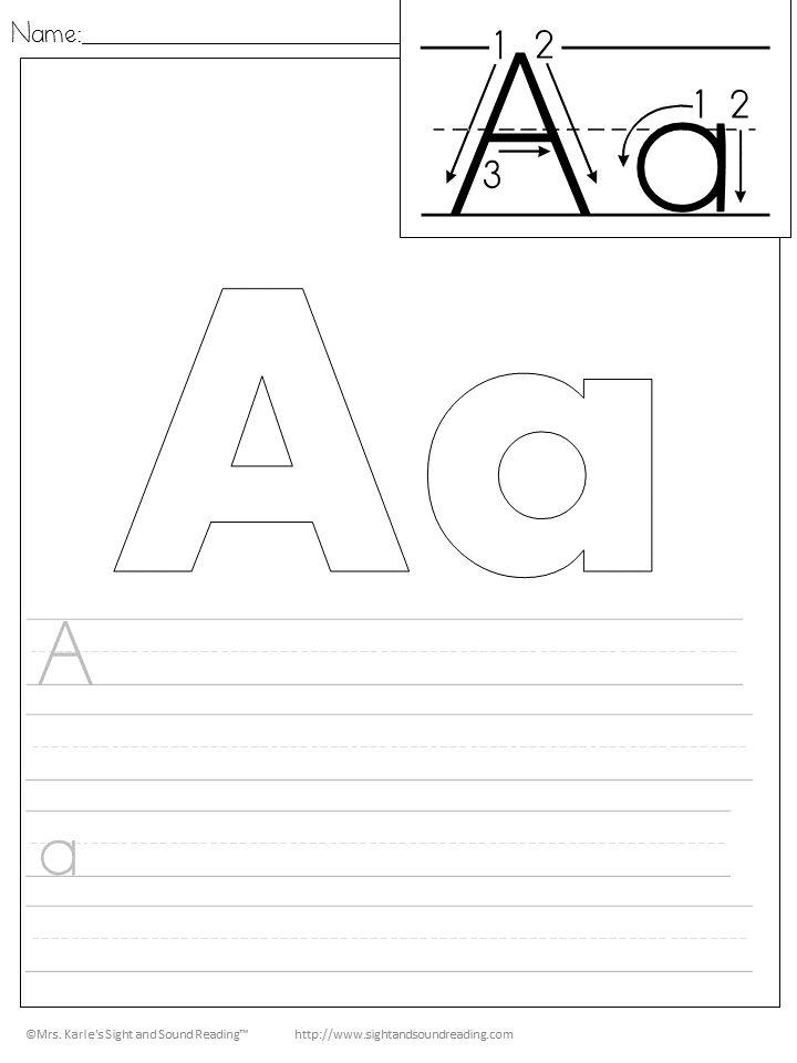 Handwriting Practice Printables - Free Handwriting Practice