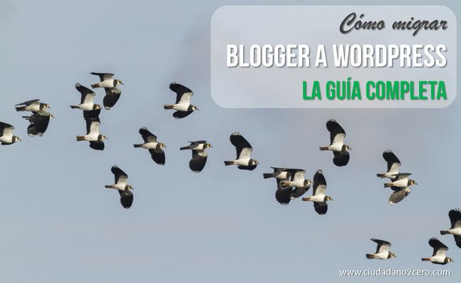 como migrar blogger wordpress