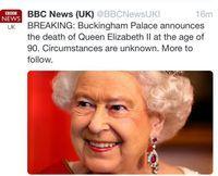 Paniek na doodverklaring koningin Elizabeth|Prive| Telegraaf.nl
