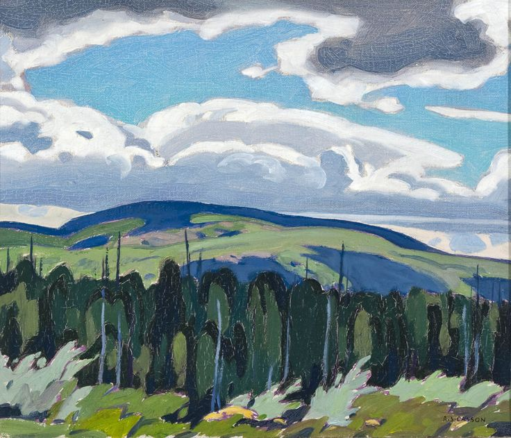 Alfred Joseph Casson, 'Algonquin Park' at Mayberry Fine Art