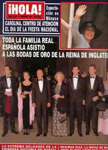 Revista Hola España Nº 2782 - $ 35,00