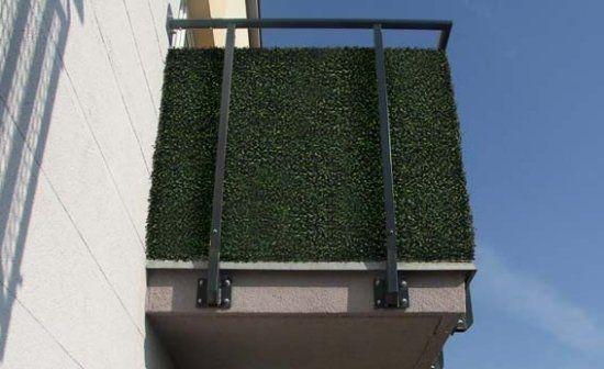 zielone parawany