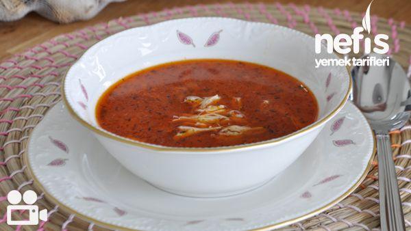 Paça Tadında Tavuk Çorbası