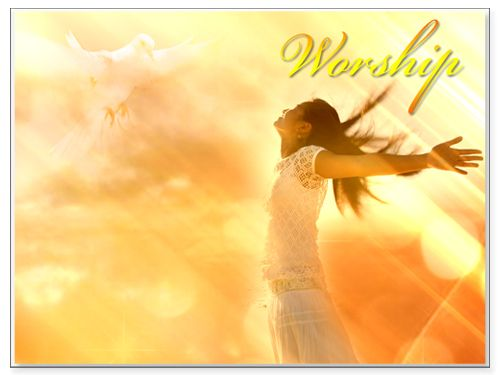 worship backgrounds for powerpoint | Worship PowerPoint Template