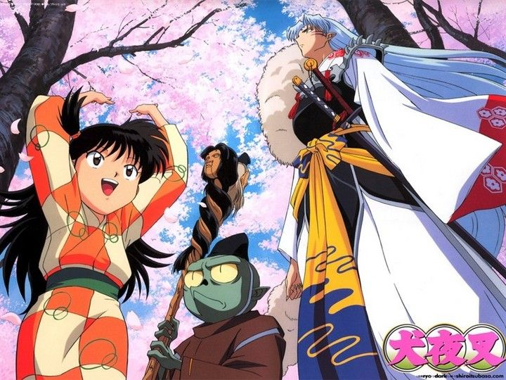 rin jaken and sesshomaru wallpaper inuyasha