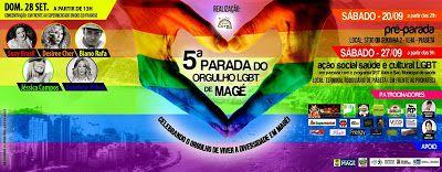 Divulg@rtes.com: 5° Parada do Orgulho LGBT de Magé