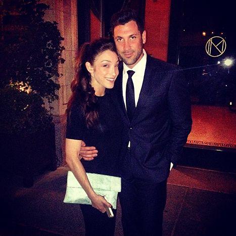 Meryl Davis and Maksim Chmerkovskiy --- OMG they are sooo totally adorable!!