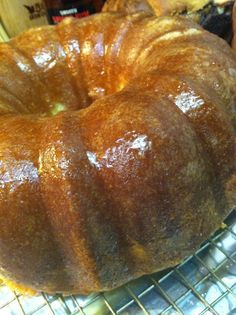 What could be more delicious than a Puerto Rican Rum Cake, with a rum-glaze? Baking cakes, especially bundt cakes is so easy! I use a yellow cake mix and just add additional ingredients. See our recipe online.