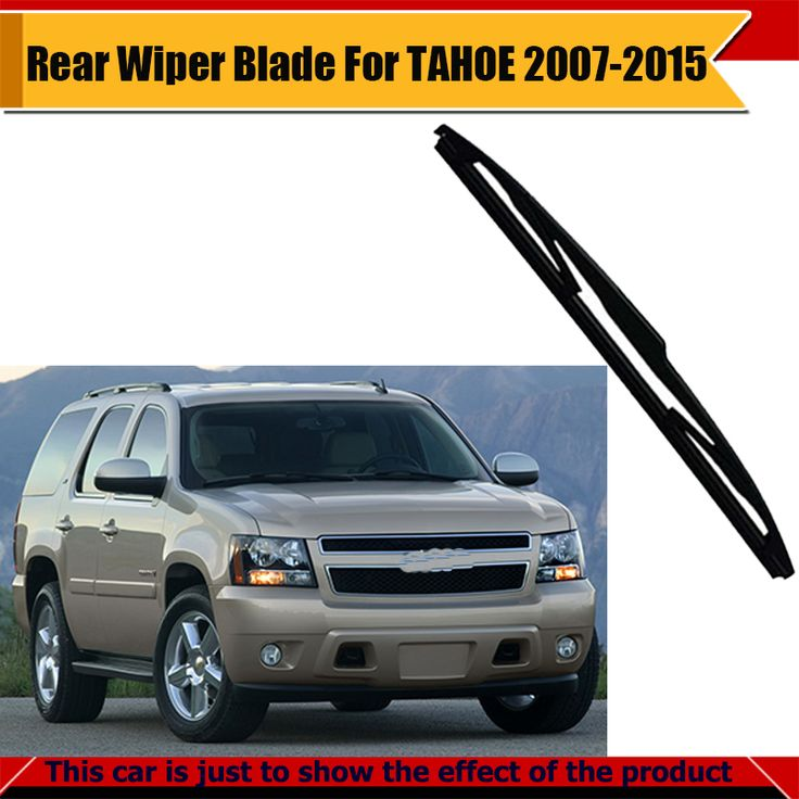 For Chevrolet TAHOE 2007-2015 Car Soft Rubber Wiper Blade Rear Window Windshield #Affiliate