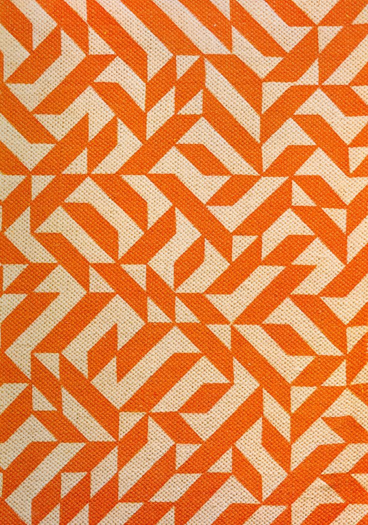 Anni Alber's Eclat pattern. Originally designed in 1974 as an upholstery pattern, Anni Albers' Eclat, was first produced printed on a cotton/ linen ground in various scales and color combinations. Reintroduction into the market as part of Knoll's 60th anniversary archival collection celebration in June 2007, Eclat, renamed Eclat Weave, is now produced as a woven, rather than printed, upholstery.