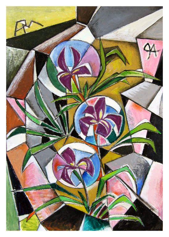 Le Bouquet d'Iris