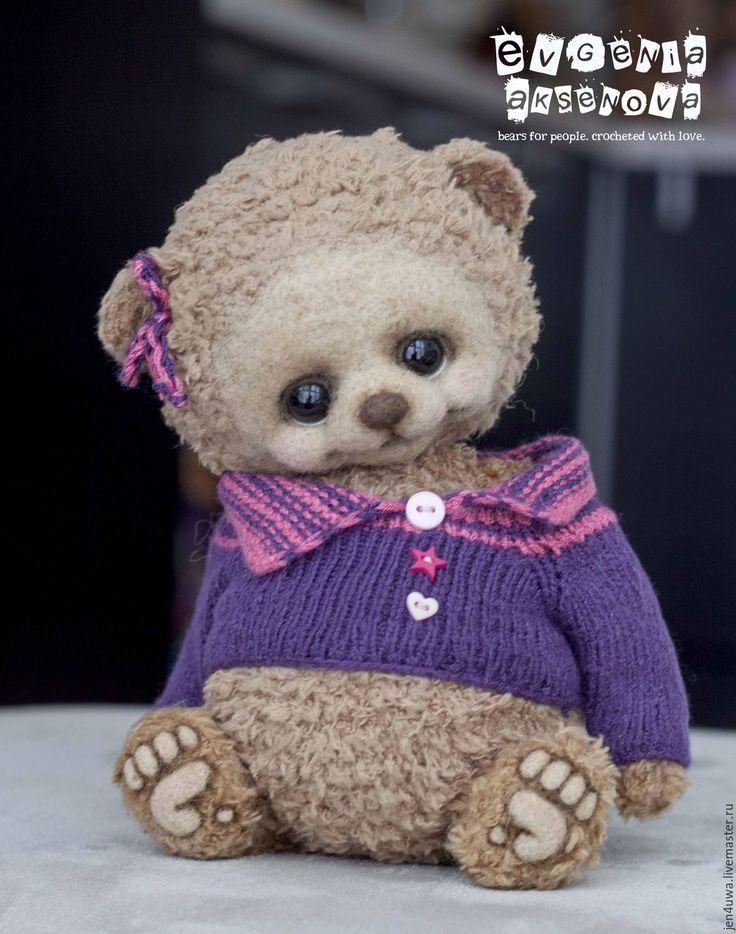 It's CROCHET teddy bear | Купить Мон - фуксия, мишки аксеновой евгении, мишки крючком, мишка крючком, мишка вязаный