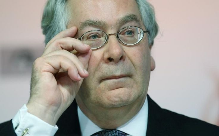 World economy stands on the cusp of another crash, warns Lord Mervyn King
