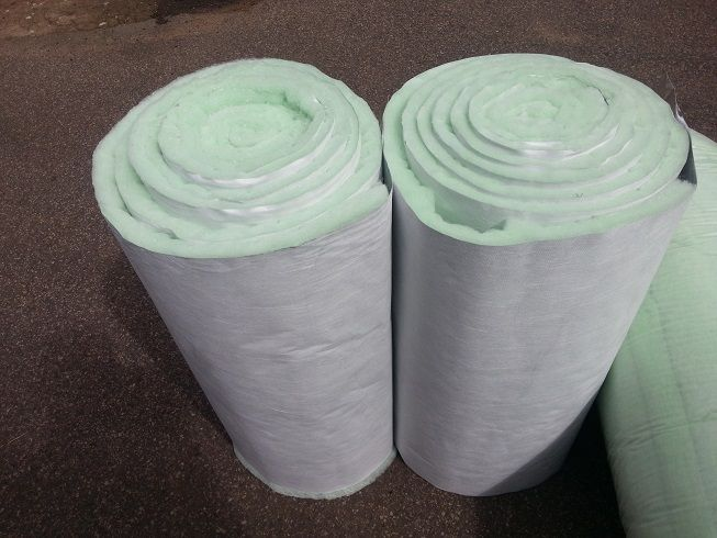 Isofoil thermal and acoustic insulation made from a combination of polyester insulation (isotherm) and a reflective foil. Durban, Johannesburg, Pretoria