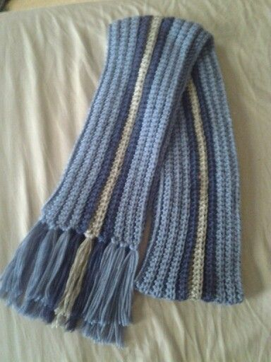 Crochet Scarf Pattern Male : Crocheted mens scarf Crochet Tutorials and Patterns ...