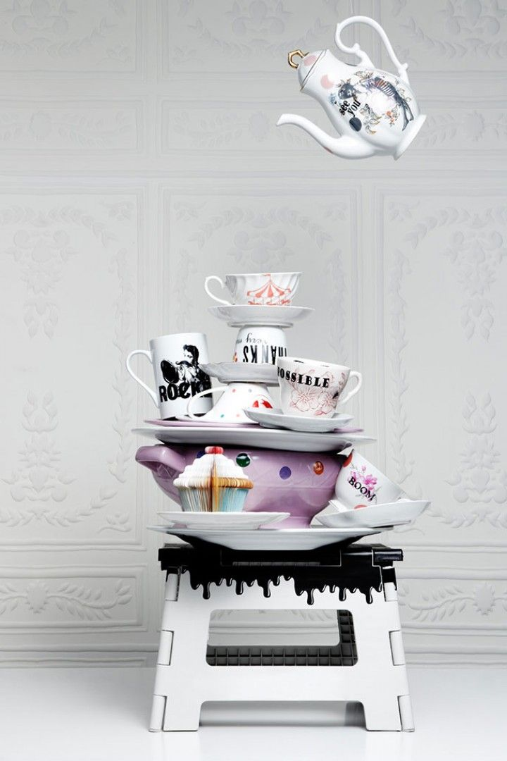 Porcelain by Remake, wallpaper - Elitis, Dreamhouse - Designers, photo: BoysPlayNice