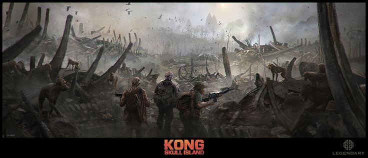Kong - Skull Island    Director: Jordan Vogt-Roberts   Production Designer: Stefan Dechant   Client: Legendary Pictures