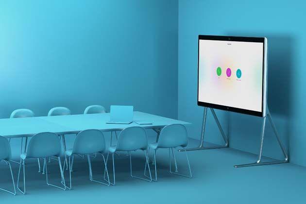 Cisco Webex Board 85 in meeting room Hall interior