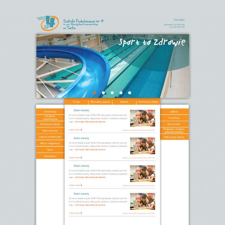 Szkoła Podstawowa numer 4 w Turku. Realizacja http://www.hesna.pl
