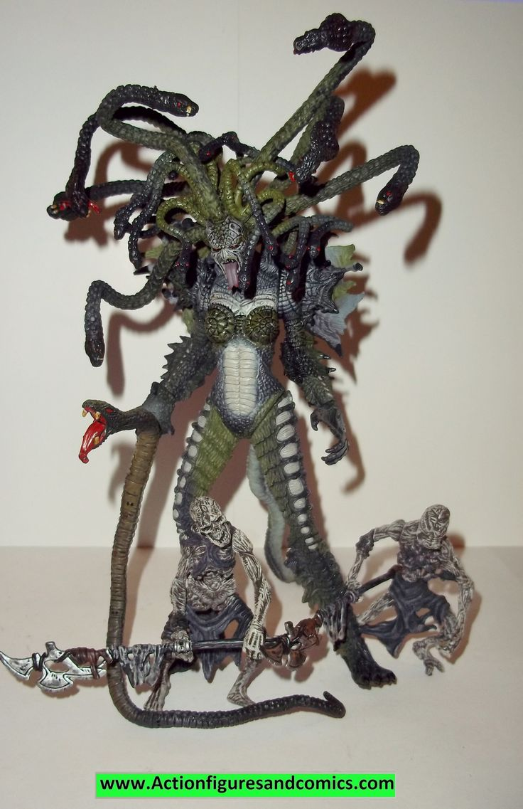 Spawn MEDUSA 1998 series 13 curse of the spawn complete todd mcfarlane toys action figures