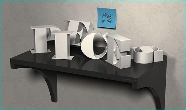 30 Fresh And Creative Text Effect Photoshop Tutorials