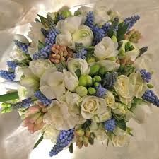 Image result for bridal bouquet muscari