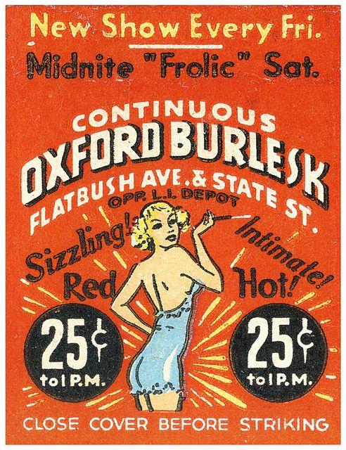 vintage matchbox cover