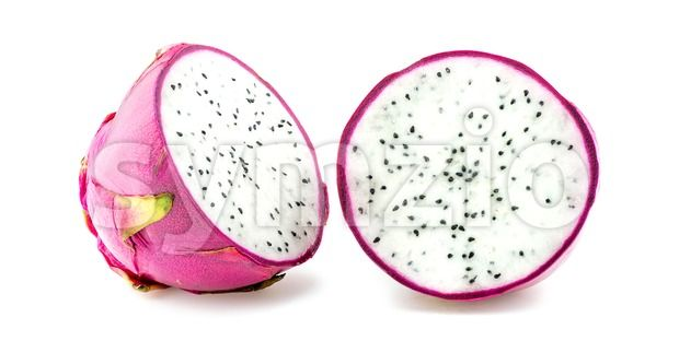 Stock photo of Dragon fruit cut in half from $1.99. Find high quality images from independent artists at Symzio.