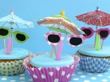 Kinderfeestje, cupcakes hawaii