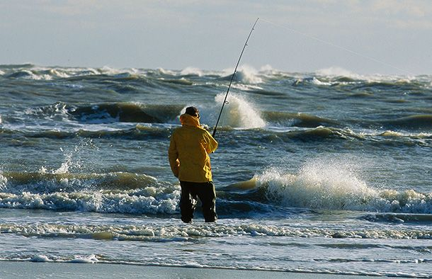 64 best obx postcards nc images on pinterest outer banks for Outer banks surf fishing tips