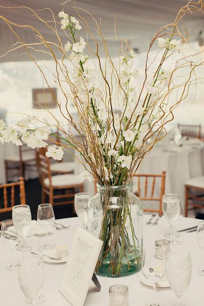 Best ideas about willow branch centerpiece on