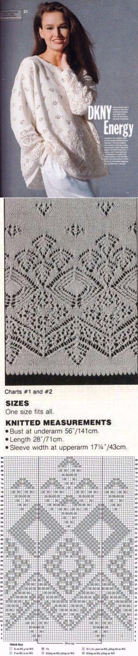 Пуловер с шотландскими узорами