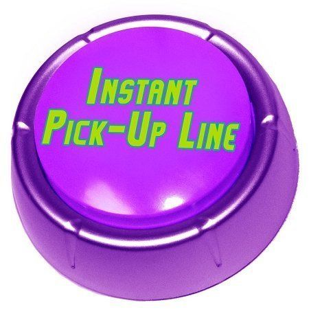 The Instant Pick-Up Line Button by FunQi