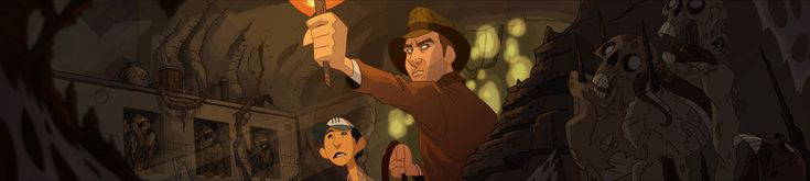 "A113Animation: What If: Fan-Made ""Indiana Jones: The Animated Adventures"" Artwork"